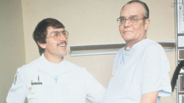 Dr. Christiaan Barnard describes his approach to performing the first successful heart transplant. On December 3, 1967, 53-year-old Lewis Washkansky received the first transplant at Groote Schuur Hospital in South Africa.