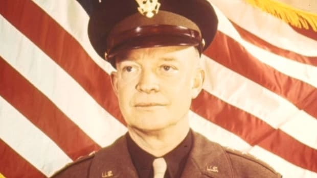 On June 5, 1944, Supreme Allied Commander Dwight D. Eisenhower orders the massive Allied Expeditionary Force into action.