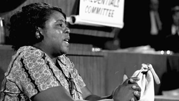 Fannie Lou Hamer on Roots of Her Activism