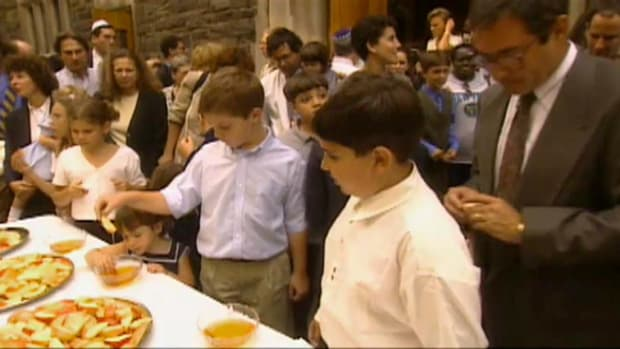 What is Rosh Hashanah? History.com's Ask a Rabbi series describes and defines this most important Jewish Holiday. Learn about the customs associated with Rosh Hashanah including the blowing of the ram's horn.