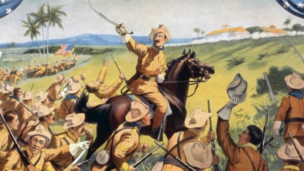 Explore the role of Teddy Roosevelt and the Rough Riders during the Spanish-American War.