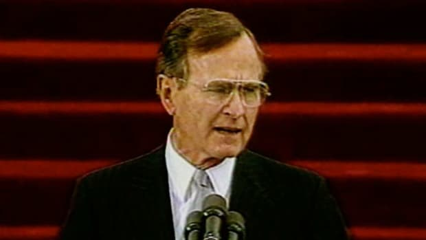 Excerpts from George Herbert Walker Bush's inaugural address on Friday, January 20, 1989.