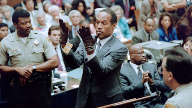 "On this day in 1995, at the end of a sensational trial, former football star O.J. Simpson is acquitted of the brutal 1994 double murder of his estranged wife, Nicole Brown Simpson, and her friend, Ronald Goldman. In the epic 252-day trial, Simpson's ""dream team"" of lawyers employed creative and controversial methods to convince jurors that Simpson's guilt had not been proved ""beyond a reasonable doubt,"" thus surmounting what the prosecution called a ""mountain of evidence"" implicating him as the murderer."