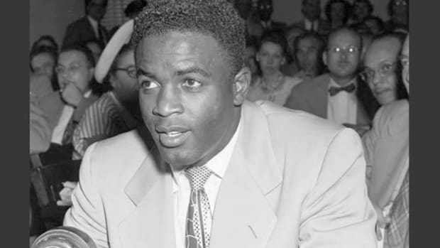 In 1949, Jackie Robinson was called before the House Un-American Activities Committee to discuss the appeal of communism to black America.