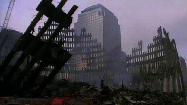 Cleanup efforts at Ground Zero included the recovery and preservation of artifacts to be used in museum exhibits around the country.