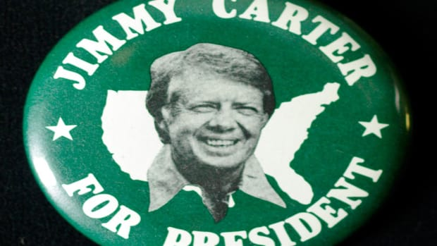 Carter reminds his fellow southerners that there had not been a president from the deep South since 1848, in a radio commercial meant to appeal to the deep South. Ultimately Carter won this region, but Ford got more white southern votes.