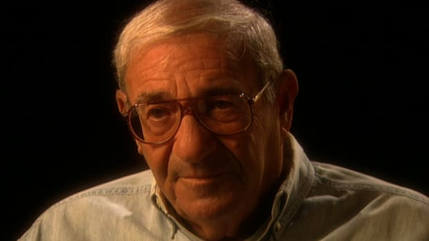 WWII veteran Roland Winter talks about the inhumanity of warfare.
