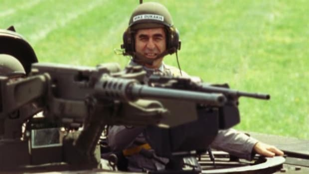 In 1988, Michael Dukakis' campaign was destroyed by an ad the Bush campaign ran using footage of Dukakis having fun driving a tank.