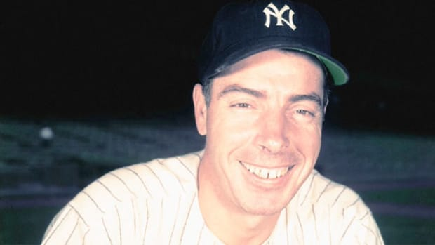 On December 11, 1951, baseball great Joe DiMaggio holds a press conference and announces the end of his career.