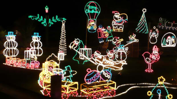 Christmas lights have evolved from novelty item to household essential.