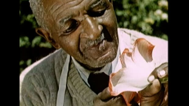 How did George Washington Carver bring science to the Tuskegee Institute?