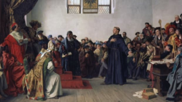 The German monk's questioning of Catholic dogma leads to the Protestant Reformation.