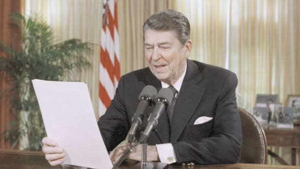 In his Saturday radio address on May 14, 1983, the last day of Small Business Week, President Ronald Reagan discusses the successes of entrepreneurs and new businesses in America.
