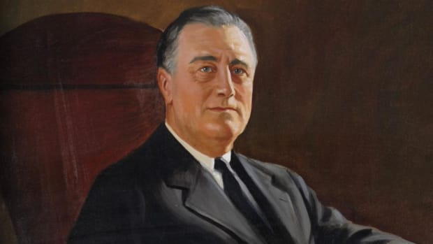 Examine President Franklin D. Roosevelt's role in World War II. Find out how he led the United States from isolationism to victory.