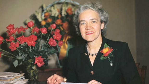 "In protest to Sen. Joseph McCarthy's anti-communist crusade, Republican Sen. Margaret Chase Smith presents, on June 1, 1950, her ""Declaration of Conscience"" and delivers one of the most memorable speeches of her career."