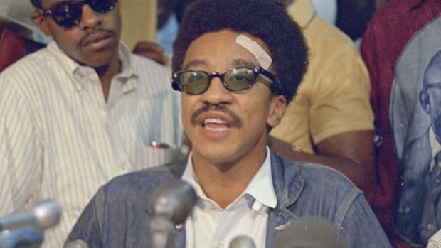 H. Rap Brown, the 1960s leader of the Student Nonviolent Coordinating Committee (SNCC), speaks about the state of the African-American community as a whole.