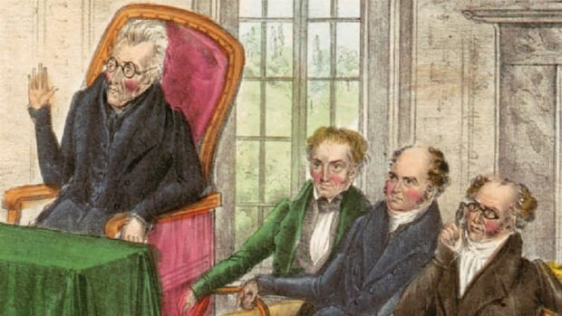 The terms Battle of The Petticoats, the spoils system and Jackson's Kitchen Cabinet all spawned from Andrew Jackson's presidency. Discover what they mean, and the scandal that surrounded them.