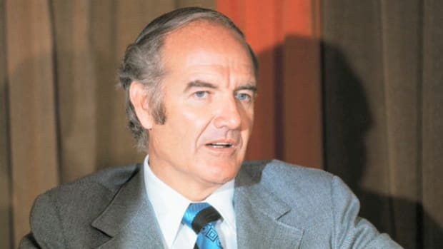 After Vice President Spiro Agnew's condemnation of Sen. George McGovern's anti-Vietnam War stance on national television, McGovern defends his position.