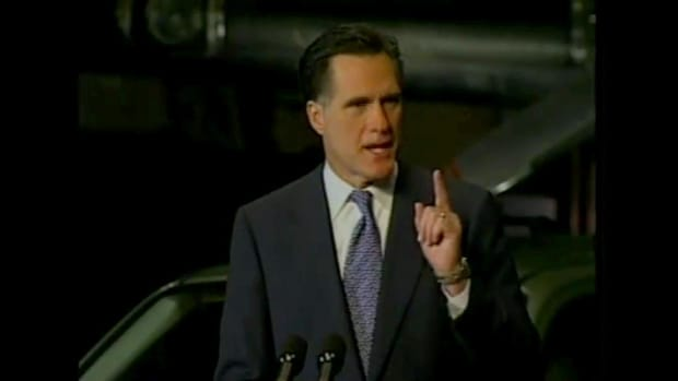 History Decision shows us just how much work was put into running for President of the United States. Join Mitt Romney as he declares his interest in running for president and how he campaigns through the states across America. Being a Mormon, some disagree with his nature, but in this clip you will see not only the lighter side of him but his brighter side.