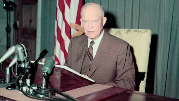 On July 27, 1953, the Korean War armistice was signed, ending three years of fighting that involved two dozen nations. In his public statement delivered an hour after the signing, President Eisenhower commemorates those who fought to keep freedom alive.