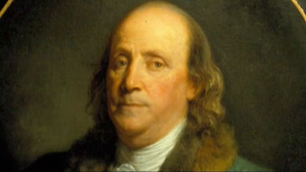 The Pennsylvania scientist and diplomat signs both the Declaration of Independence and the Constitution.