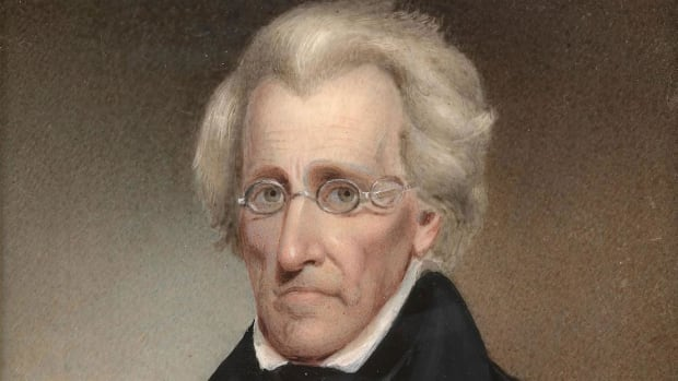 Andrew Jackson Kitchen Cabinet Painting