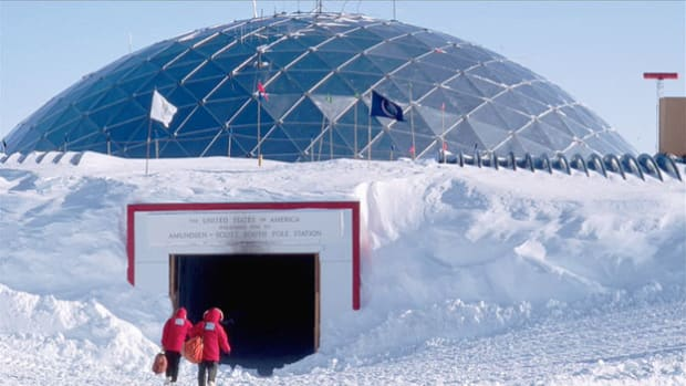 A 1986 study of the South Pole determined the cause of a hole in the ozone layer and led to an international treaty banning the production of chlorofluorocarbons (CFCs). Twenty years later, in an August 23, 2006, report, a scientist from the original expedition discusses the ozone's slow recovery.