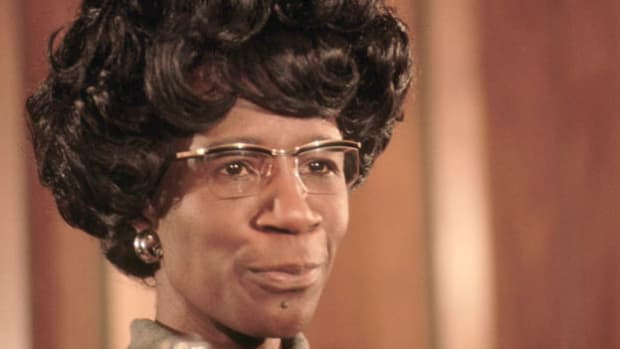 During her 1972 campaign for the Democratic presidential nomination, Shirley Chisholm, the first African-American congresswoman, promises to tell the truth about sex and race.