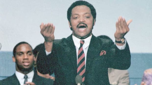 Jesse Jackson at Democratic Convention