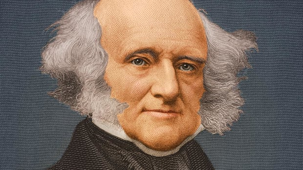 Find out why New York Democrat and American President Martin Van Buren was considered the ultimate political machine in American politics.