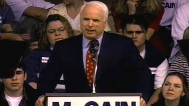 A closer look at John McCain and his run for the US Presidency in 2008.