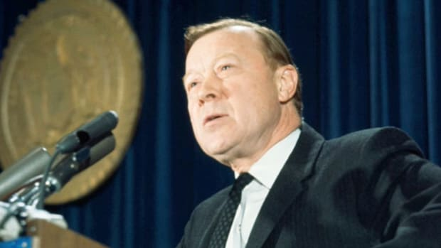 On September 5, 1966, Walter Reuther, president of the United Automobile Workers (UAW) and a social justice champion, gives his annual Labor Day speech to the workers of America.