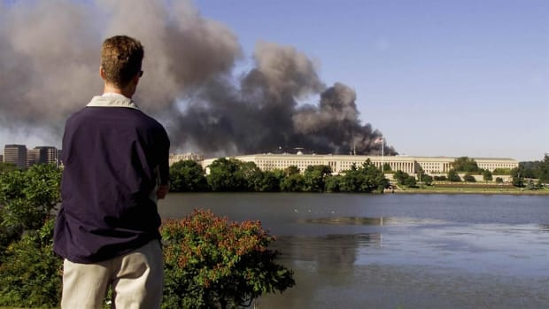 Washington, DC on 9/11, courtesy of WTOP Radio.