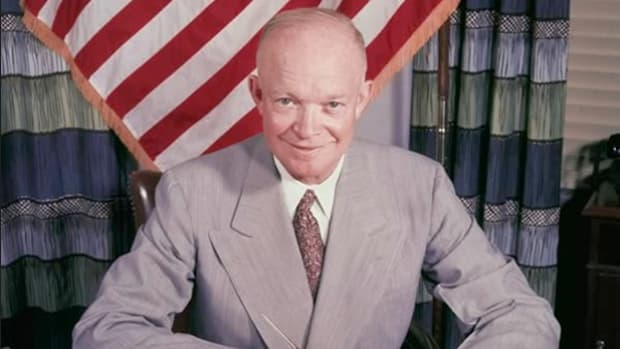 President Dwight D. Eisenhower called for peaceful foreign relations during his first State of the Union address to Congress.
