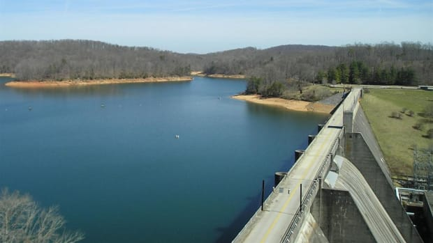 In the early 1930's, every spring in the Tennessee River Valley brought on an onslaught of rain which totaled six feet each year. Roosevelt created the Tennessee Valley Authority to fix the problem.
