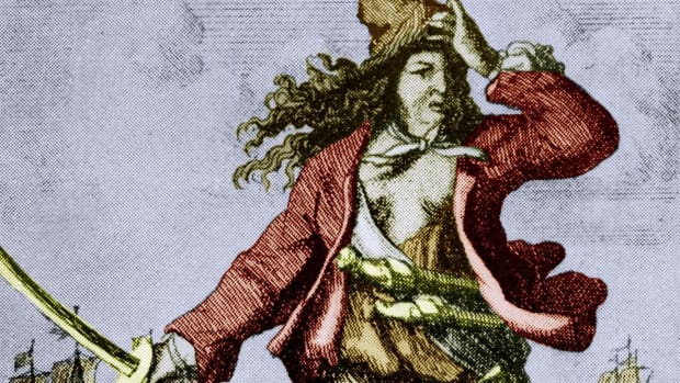 Anne Bonny and Mary Read were two of the most feared female pirates of the early 18th century.