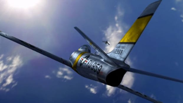 The F-86 Sabre jet, equipped with six 50-caliber machine guns, was the first U.S. swept wing fighter ever produced. Find out why pilots called it the best plane they ever flew.