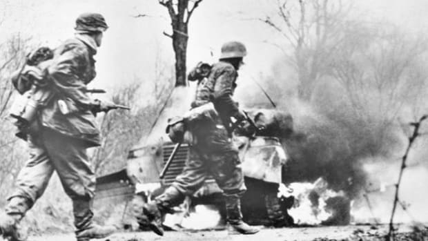 On December 16, 1944, the Germans launched a counteroffensive attack intended to cut through the Allied forces. A dispatch describes the situation along the front as the Allies face great adversity in the ensuing battle.