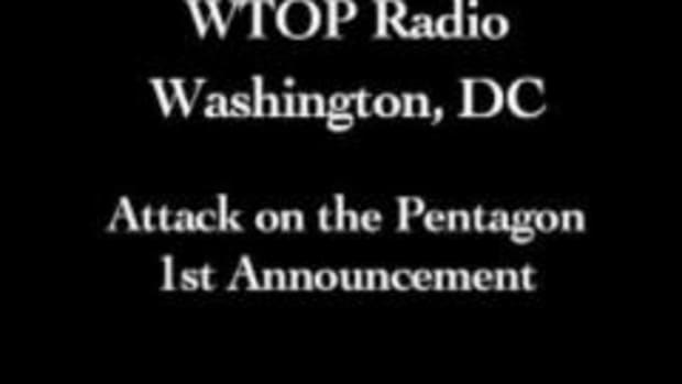 First report from Washington, DC radio station, WTOP, on trouble at the Pentagon.  Courtesy of WTOP Radio.
