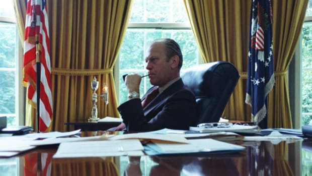 President Gerald Ford escapes assassination just 17 days after a previous attempt was made on his life.