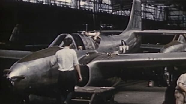 General Electric played a crucial role in boosting U.S. air power after World War II. In fact, the company's engines enabled aircraft to reach previously unmatched speeds.