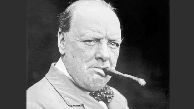 In a speech delivered on November 16, 1934, Winston Churchill questions his country's policy of appeasing Hitler and raises concerns over the rising power of Nazi Germany.