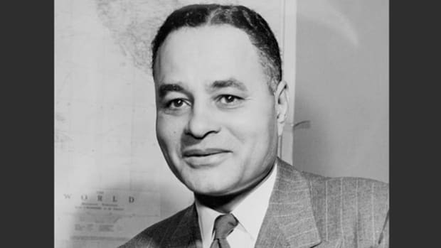 Ralph Bunche, who played a prominent role in drafting the United Nations Charter, speaks about the UN's important place in the world.