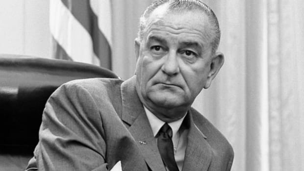 On June 23, 1964, two days after three civil rights workers disappeared in Mississippi, President Lyndon B. Johnson telephones Senator James Eastland for help with the matter, but Eastland denies trouble and declares the event a publicity stunt.