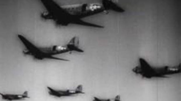 Footage of the historic D-Day invasion from the United News. The terms D-Day and H-Hour are used for the day and hour of a military strike. The best known D-Day is June 6, 1944  the day in which the Invasion of Normandy began. This video clip is courtesy of The History Channel.