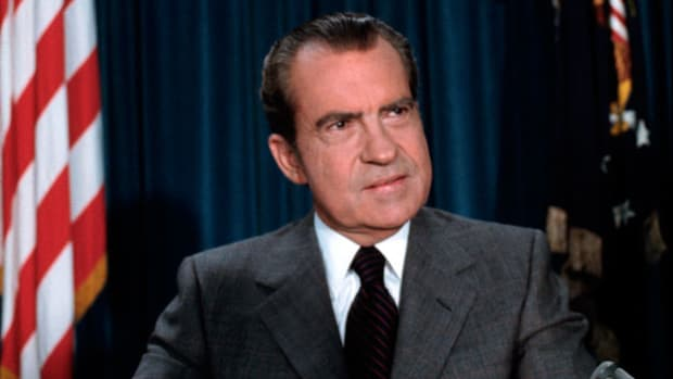 In an address to the nation on April 29, 1974, President Richard Nixon explains why he will not be turning over additional subpoenaed tapes in the Watergate trial but will instead provide transcripts of the recordings.