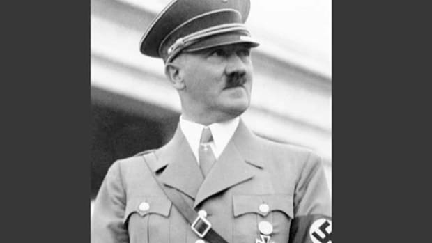 In 1938, Adolf Hitler began to support the demands of Germans living in the Sudetenland region of Czechoslovakia who were seeking closer ties with Germany. The Nazi leader delivers a speech revealing Germany's desire to unite the two countries.