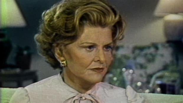 Betty Ford on her success on being sober.