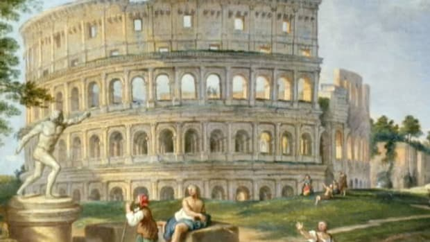The Roman Coliseum was an engineering marvel designed to seat close to 75,000 people.