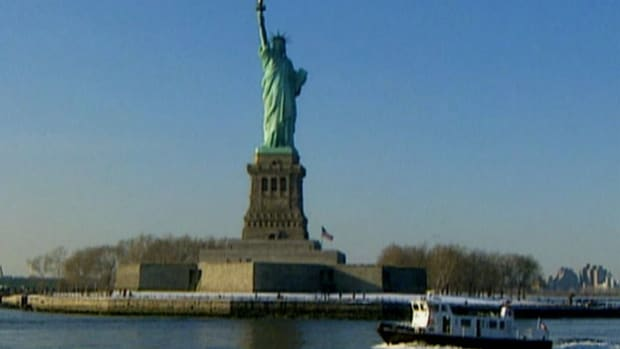 Seen from inbound ships, the Statue of Liberty was an emotional welcome for immigrants coming to America. Hear from those who remember their first glimpse of this symbol of life, liberty and the pursuit of happiness.